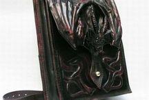 Goth hand bags