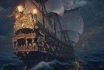 Корабли, лодки