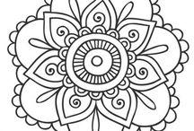 Mandalas dibujo