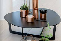 Copper Black and wood