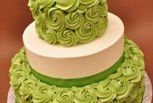green cake w