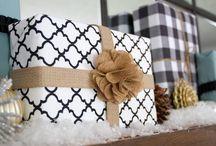 gift wrap made extra-ordinary / by Deborah Presnar