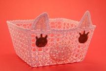 Piggy Container ~ Basket