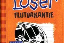 Graphic Novels voor kinderen / Humoristische reeksen met veel tekeningen, zoals 'Het leven van een loser', 'Tom Groot' en 'Super Kid'.