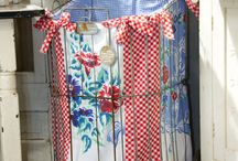 Linens upcycled