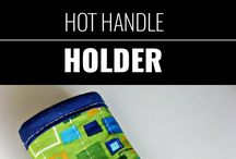 Sewing - Kitchen : Hot Pan Handle Holder