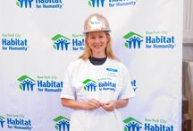 Broadway Builds with Habitat-NYC 2012 / Thanks to the amazing Broadway actors, producers and writers who came out to help Habitat for Humanity - New York City build homes in Brooklyn on September 24, 2012 as part of our inaugural Broadway Builds event. We're so appreciative of your help and hard work!   / by Habitat for Humanity New York City