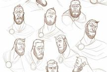 Technique Expressions / #drawing #dessin #sketching #expression #emotion