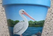 Painting on pots
