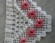 dantel ve havlu kenarı
