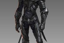 Art [armors, creatures, swords, costume, fantasy]