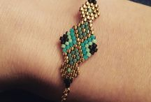 brick stich jewelry