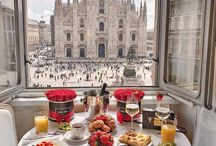 Food on show / Breakfast, Lunch & Dinner from travelers who visit amazing hotels around the world. Add these to your bucketlist