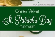 St. Patrick's Day / recipes, home décor, crafts