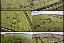 2.015 Crop Circles / Circulos de las cosechas del año 2.015