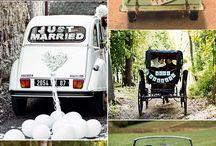 Coches de boda especiales / Los coches de boda más bonitos y originales para el día de la boda