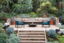 Terraced garden designs