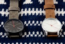 Design watches / Favourite watches from the store. Komono and Daniel Wellington watches.