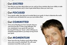 Tony Robbins / Words to motivate and inspire you.
