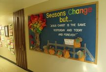 Church Bulletin Boards / by Courtney Rodriguez Scheidler