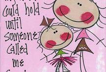Grandchild~Nieto / Grandma~Abuelita / by Betty Soto-Soria