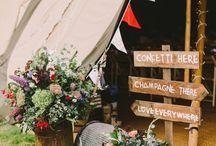 Outdoor Tipi Wedding Inspiration