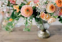 Wedding palette | P E A C H E S + O R A N G E S