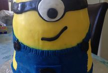 Minion Cake / Birthday Cakes