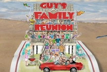 """""""Guy's Family Reunion"""" wins Daytime Emmy Award / Guy Fieri of The Food Network's """"Diners, Drive-Ins, and Dives,"""" recently visited the Outer Banks to film """"Guy's Family Reunion.""""  """"Guy's Family Reunion,"""" which was a Food Network special, received a Daytime Emmy Award this past weekend.  The show was filmed in Joe Lamb, Jr. & Associates property #342 """"The Front Nine"""" and Guy's family stayed in Joe Lamb, Jr. & Associates property # 018 """"The Sea Perch.""""   While in the area, Guy also ate at a few of the Outer Bank's best restaurants. / by Joe Lamb, Jr."""