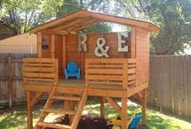 Playhouse! / Outdoor play creations