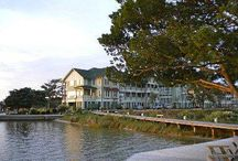 Marshes Light Resort / The Marshes Light Resort on the #OuterBanks features beautiful condos by the waterfront boardwalk in #Manteo.
