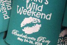 Bachelor/Bachelorette Koozies / Koozies are a great way to remember a fun Bachelor or Bachelorette weekend!