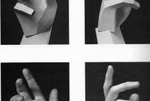 Mãos - Esboço