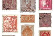 Stamp collection lovers