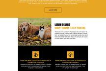 adoption landing page