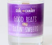 Coal and Canary Candles / Made in Manitoba Candles by Coal and Canary!