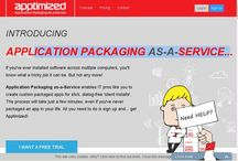 Application Packaging / Apptimized is allows IT Pros to build their own packaged (installed or streamed) applications. We have been offering Application Packaging that makes it possible to install software on multiple computers since 2004. From now on its self-service and you don't require any packaging skills.