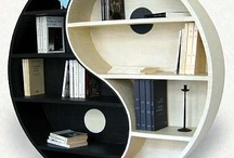 Bookshelves / by 1stWebDesigner
