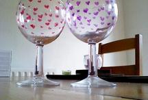 Sharpie glass art