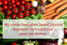 Whole Food Plant Based Lifestyle / Throughout history the healthiest people lived on starches. A whole food plant based lifestyle can be delicious, healthy, simple and inexpensive.