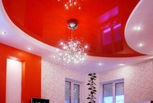 10 Red gypsum false ceiling design for living room 2015 / 10 Red gypsum false ceiling design for living room 2015