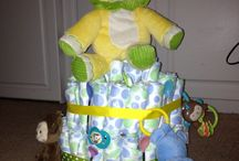 Holly's Diaper Cakes  / Email me if you would like to purchase one hbhart24@yahoo.com / by Holly Hart