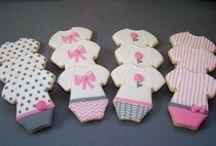 cookie art babygrows