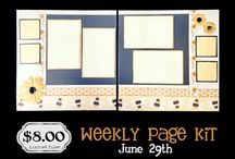 Weekly Page Kits