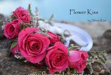 pulseras flores