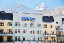 Rosa Khutor, Russia / The Park Inn Rosa Khutor is located in the heart of the Alpine Ski Resort.  With over 40 different runs for skiing and snowboarding, allow Park Inn to bring you closer to Russia's premier skiing location. / by Park Inn by Radisson