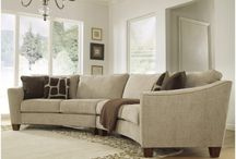 Curved sofas
