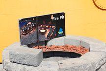 Fire Pit Kits / Masonry and Steel Fire Pits