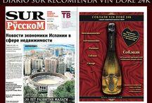 Diario SUR recomienda de nuevo Vin Doré 24k / Diario SUR recomienda de nuevo Vin Doré 24k  http://vindore.com/distribuidores-vindore24k.html