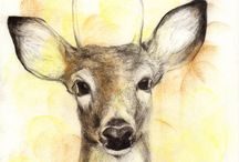 ART: Animal Drawings & Scetches / animal anatomical study, animal draws, paints  & scetches